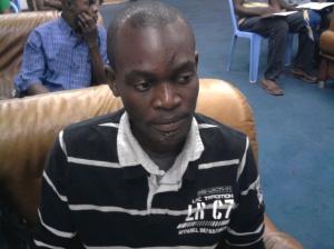 Mr NKAYILU SALOMON YANNICK, Coordinateur de la CARAC